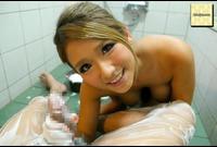 風呂場で泡まみれ性交【前編】