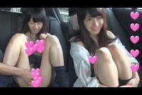 【個撮】まさに天使!超美少女なんだけど超バカ!しゃぶり顔もたまらん~超敏感車内おしゃぶり映像