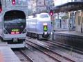 中央本線 甲府駅 E257系、E351系発着